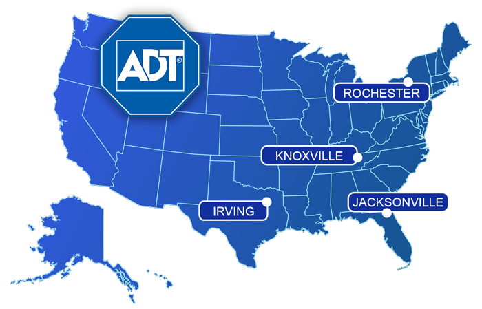 ADT coverage America United States