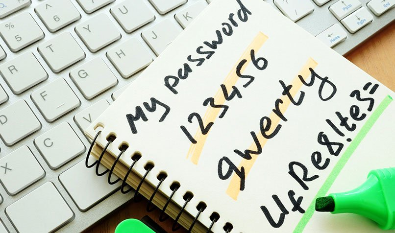 Most used passwords are not secure