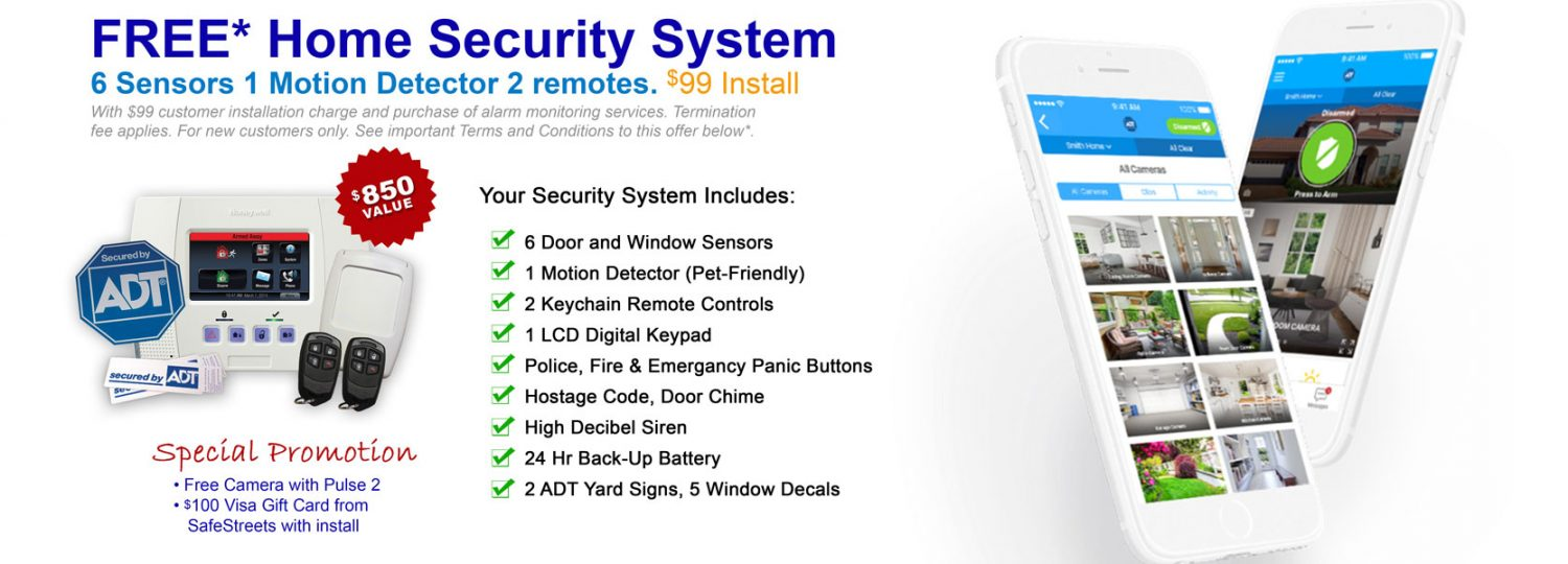 call now to order ADT home security